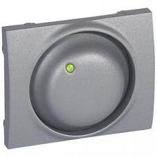 Galea Life Алюминий Накладка светорегулятора поворотного   771168   Legrand