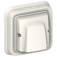 Plexo Белый Вывод кабельный с зажимом (в сборе) IP55   069888   Legrand