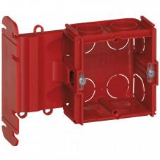 Встраиваемая коробка Batibox - для крепления на дверной раме - для кирпичных стен - глубина 40 мм | 080170 | Legrand