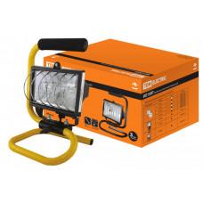 Прожектор ИО 150П 150Вт IP54 черный, переноска   SQ0302-0013   TDM