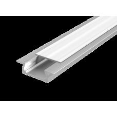 Алюминиевый профиль для LED ленты с рассеивателем встраиваемый 2000мм х 10мм | V4-R0-70.0001.KIT-0202 | VARTON
