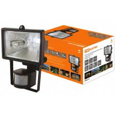 Прожектор ИО 150Д 150Вт IP54 черный, детектор   SQ0302-0011   TDM