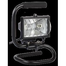 Прожектор ИО 150П 150Вт IP54 черный, переноска   LPI03-1-0150-K02   IEK