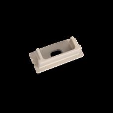 Торцевая крышка для накладного профиля с отверстием | V4-R0-70.0001.KIT-0211 | VARTON