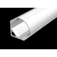 Алюминиевый профиль для LED ленты с рассеивателем для углового монтажа 2м | V4-R0-70.0001.KIT-0203 | VARTON