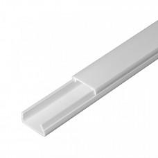 Кабель-канал белый в п/э 20х10 (180м/уп) | PR03.0011 | Промрукав
