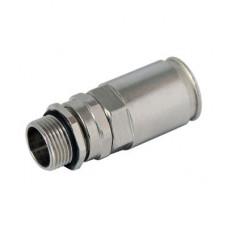 Муфта труба-коробка DN 40 с уплотнением кабеля, IP68, М40х1,5, д.20 - 27мм | 6111P40M402027 | DKC
