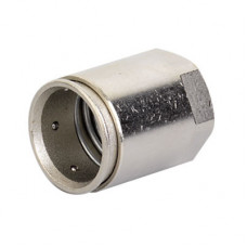 Муфта труба-коробка д.40мм, IP66/IP67, М40х1,5, внутренняя резьба, никелированная латунь | 6112-A40 | DKC