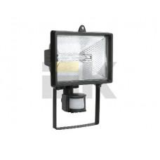 Прожектор ИО 150Д 150Вт IP54 черный, детектор   LPI02-1-0150-K02   IEK