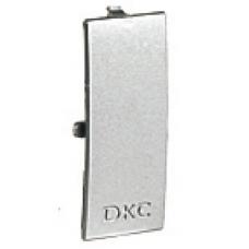 Накладка на стык крышек 60 мм цвет серый металлик | 09504G | DKC