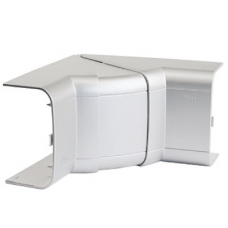 Угол внутренний 140х50 мм, изменяемый (80-115°), цвет серыйметаллик | 01451G | DKC