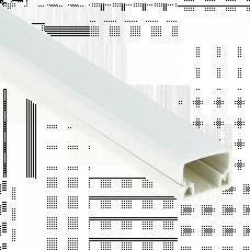 Канал кабельный (25х16) (40м.) Plast EKF PROxima | kk-25-16 | EKF