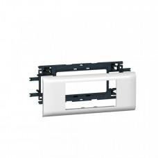 Суппорт Mosaic 4 модуля. 65 мм | 010954 | Legrand