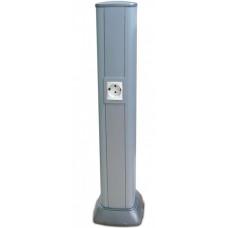 Колонна алюминиевая 0,71 м, цвет серый муар, RAL 9006 | 09594 | DKC
