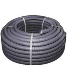 Труба гофрированная FPHF 16мм с зондом (100м) черная Plast EKF PROxima | FRHF-16 | EKF