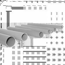 Труба жесткая гладкая ПВХ 50мм 3м (21м/уп) серый PROxima | trg-50-3n | EKF