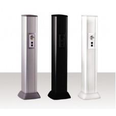 Алюминиевая колонна 0,71 м, цвет черный | 09593 | DKC