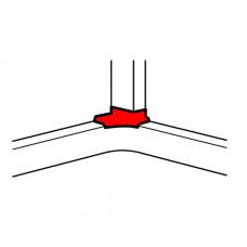 Отвод угловой для 50*105 | 010765 | Legrand