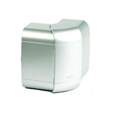 Угол внешний 140х50 мм, изменяемый (80-120°), цвет серый металлик | 01452G | DKC
