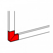Угол плоский для 65*195 | 010793 | Legrand