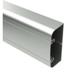 Алюминиевый кабель-канал 110х50 мм (с 1 крышкой) цвет серый металлик | 01199 | DKC