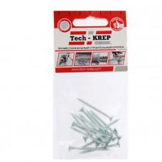 Саморез ШУц 4,0х50 потайная головка (13шт) - пакет | 102432 | Tech-KREP