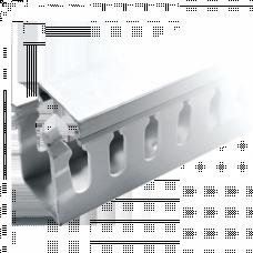 Канал кабельный перфорированный (ВхШ: 80х80мм.) EKF PROxima | kk80-80 | EKF