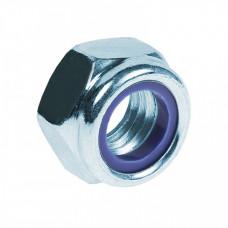 Гайка DIN 985 М14 с нейлоновым кольцом (1 кг) - пакет | 118105 | Tech-KREP