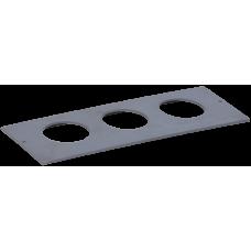 Приборная рамка ONFLOOR 80/3 | KNR-80-03-7012 | IEK