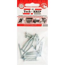 Саморез ШУц 5,0х70 потайная головка (6шт) - пакет | 102450 | Tech-KREP