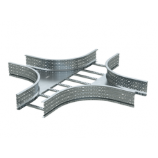 Ответвитель Х-образный лестничный 150х300, цинк-ламельный   ULX653ZL   DKC