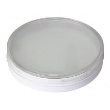 Лампа светодиодная LED 20Вт GX70 220В 5000К PLED-GX70 таблетка (плоский цилиндр) | 1027696A | Jazzway