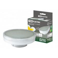 Лампа светодиодная LED 11Вт GX70 220В 4000К GX70 таблетка (плоский цилиндр) | SQ0340-0078 | TDM
