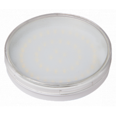 Лампа светодиодная LED 11Вт GX70 220В 3000К PLED-GX70 таблетка (плоский цилиндр) | 1027665A | Jazzway