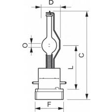Лампа MSR Platinum 35 1CT | 928194505114 | PHILIPS