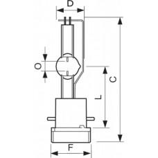 Лампа MSR Gold 1000 MiniFastFit 1CT/4 | 928171405115 | PHILIPS