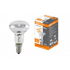 Лампа накаливания зеркальная 60Вт E14 230В R50   SQ0332-0028   TDM