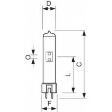 Лампа MSR 125 HR 1CT/4 | 928060205115 | PHILIPS