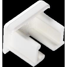 Заглушка торцевая для кабель-канала 20х12,5 | 020002S | SPL