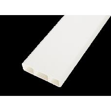 Кабельный канал 75x20х2000мм с перегородками (белый) | 075001S | SPL