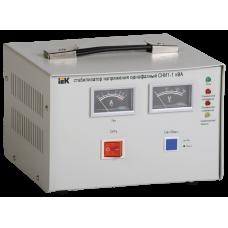 Стабилизатор напряжения СНИ1-1 кВА однофазный восстановленный | IVS10-1-01000R | IEK