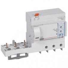 Дифференциальный блок DX3 - тип Hpi - от 300 до 1000 мА - 3П - 400 В~ - 63 А - 6 модулей   410611   Legrand