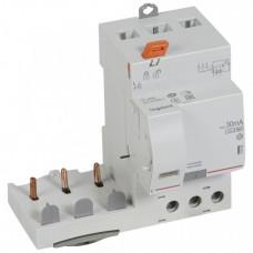 Дифференциальный блок DX3 - тип Hpi - 30 мА - 3П - 400 В~ - 63 А - 3 модуля   410486   Legrand