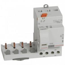 Дифференциальный блок DX3 - тип AC - 1000 мА - селективный - 4П - 400 В~ - 63 А - 3 модуля   410523   Legrand