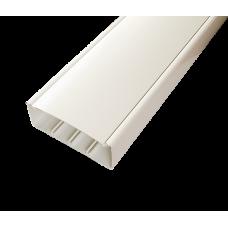 Кабельный канал с крышкой 130х50х2000мм (белый) | 130001S | SPL