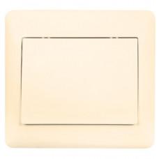София Выключатель 1-клавишный,10А, бежевый EKF Simple   ELV10-021-20   EKF