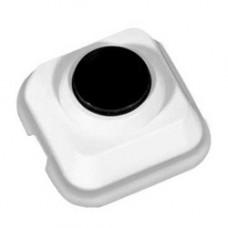 Прима Выключатель наружный кнопочный с монтажной пластиной Белый | A10-4-011M | Schneider Electric