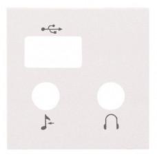 ABB Zenit Альп. белый Накладка для механизма цифрового FM-радио   N2268 BL   ABB