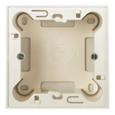 ABB Zenit Альп. белый Цоколь для открытой установки на 1-2 модуля, без рамки   N2991 BL   ABB