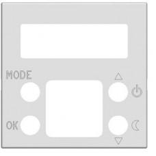 ABB Zenit Альп. белый Накладка электронного термостата 8140.5, (2 мод)   N2240.5 BL   ABB